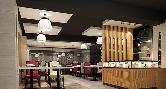 广州餐厅酒楼装修之酒楼装修效果图