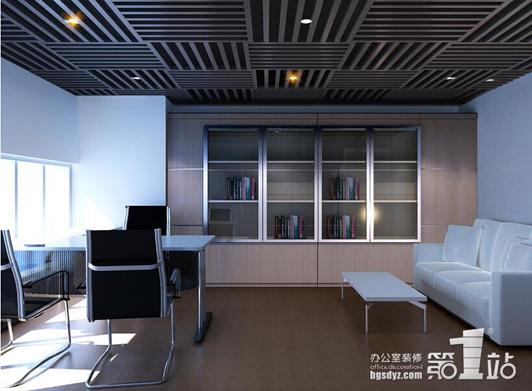 办公空间设计公司凡花服饰办公室装修效果图