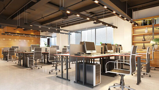 最新办公室装修设计隔断的几种方法