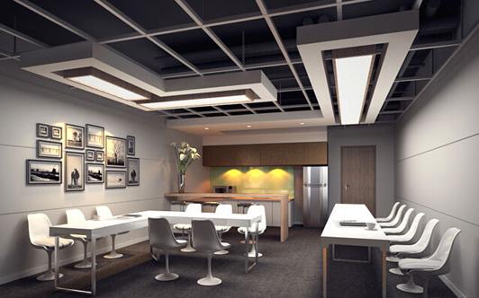 办公室装修优秀方案茶水区装修效果图