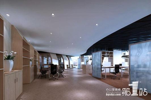 猜想服饰办公室装修设计办公区效果图-至尊型办公室装修设计