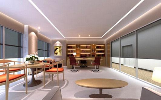 化妆品行业公司办公室设计经理室区效果图-化妆品行业公司办公室设计