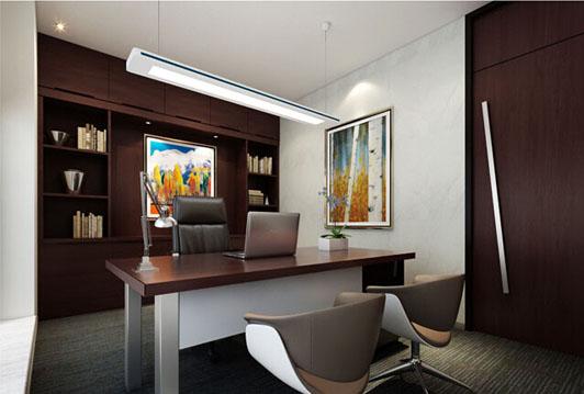 律师事务所办公室装修经理室效果图