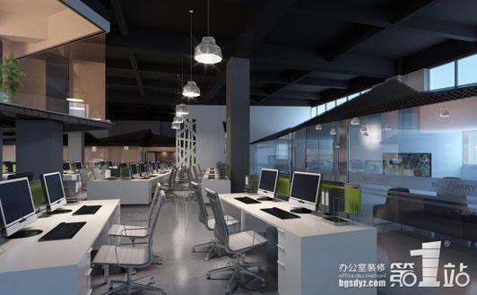 周子 装修/高档办公室装饰办公区效果图