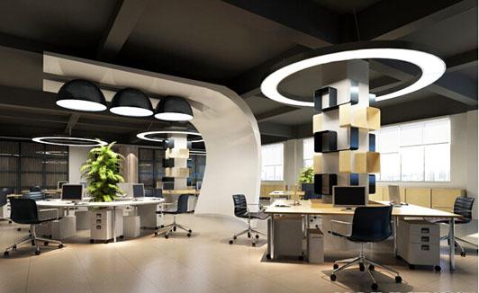 现代风格服饰企业办公室装修办公区效果图-现代风格服饰企业办公室