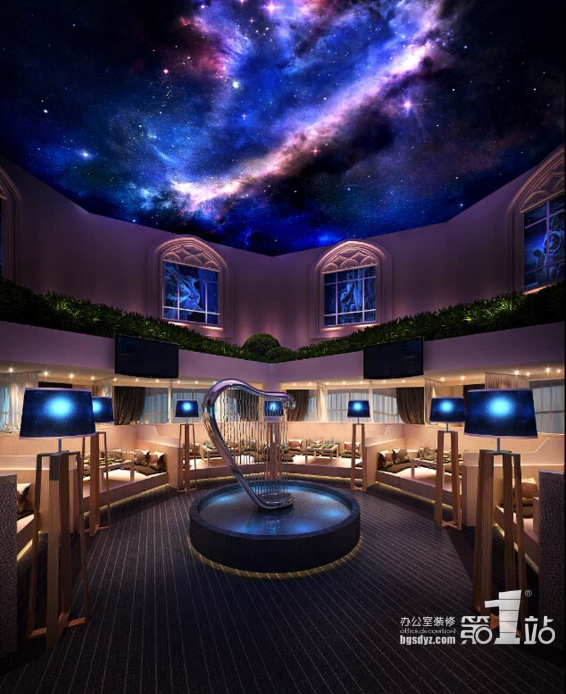 广州巴森星座餐厅设计案例