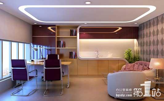 现代的办公室设计多追求空间多变化,用来塑造办公空间的连续性和形体