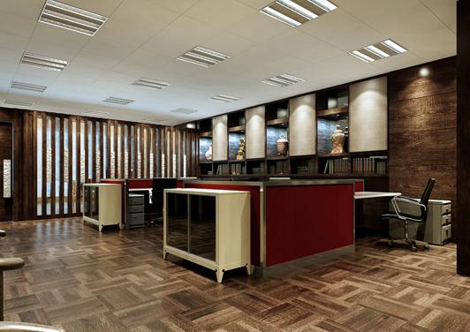 财务区办公室装修