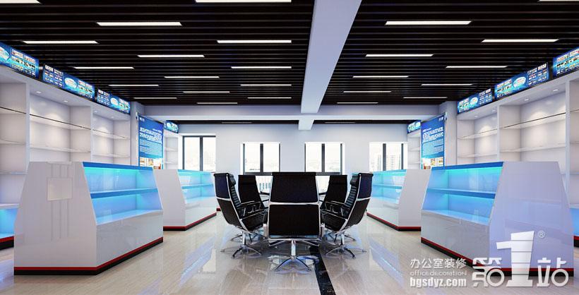 星盾警用装备公司办公室设计案例