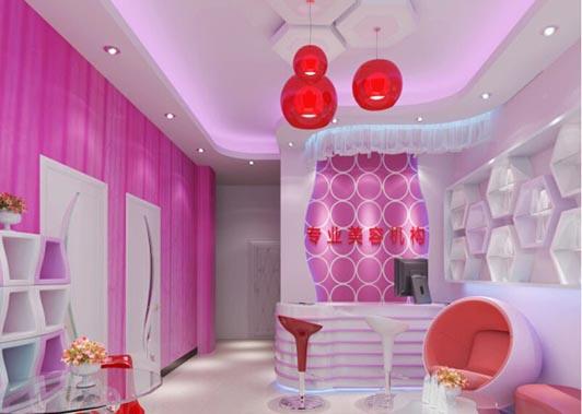 美容院装修很注重店面色彩