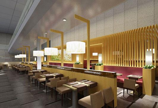 广州餐厅_广州空中一号餐厅_餐厅装修效果图大全