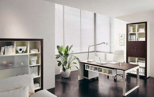 现代化办公室设计01案例经理室效果图