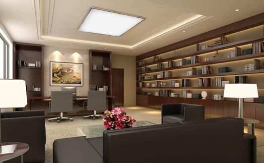 好看的办公室装修效果图02案例 漂亮的办公室装修一定有最简洁完整的室内秩序布置,这是一个安静、和谐、高效的办公空间所必须具备的环境氛围。秩序感强的办公环境可以给人一种非常舒服的感觉,减缓工作压力,这样的办公室装修难道还不够吸引你的眼球吗,?这样的办公空间难道还够高效吗?这样的办公环境难道还不能把你迷倒吗?