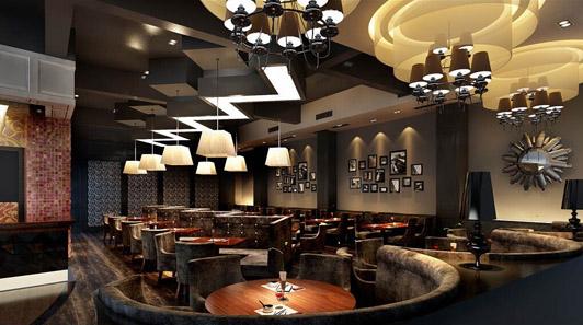 港式茶餐厅设计03案例效果图
