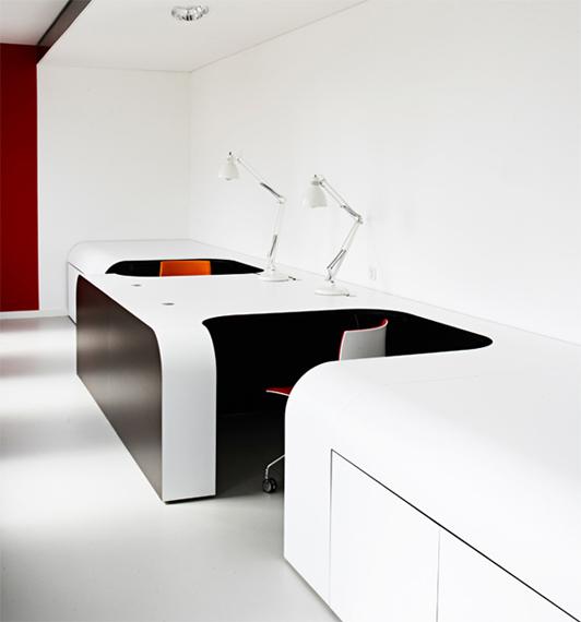 国外办公室装修设计效果图04-探索办公室装修设计的破局之路
