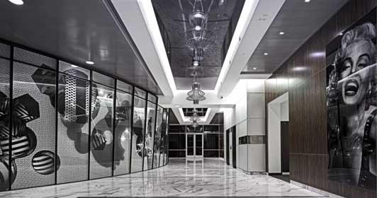 高端办公室装修设计案例02效果图