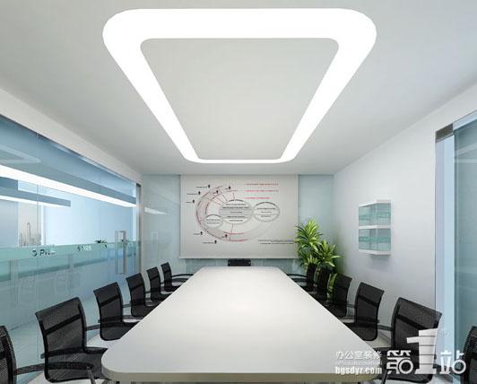 最佳办公室装修设计案例04效果图