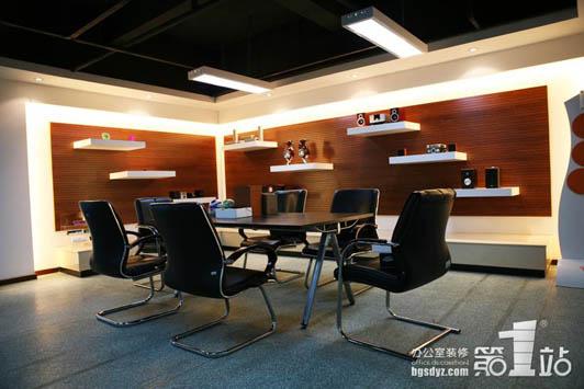 高端型办公室设计案例03效果图