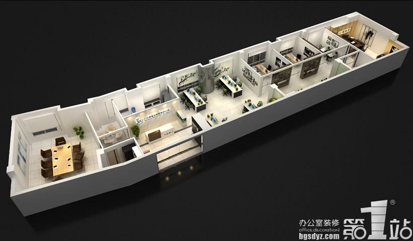 粤富来图纸办公室装修设计鲜果管涵案例预制混凝土图片