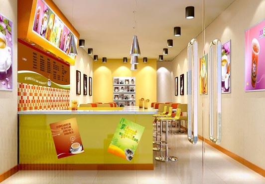 奶茶店装修经典案例装修效果图-奶茶店装修多少钱一平方 附加案例