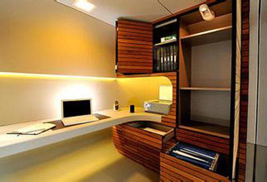 现代小型办公室装修设计方案 打破空间的局限