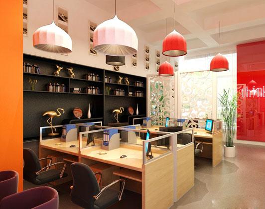 现代小型办公室装修设计方案 打破空间的局限,装修理念,广州办公室