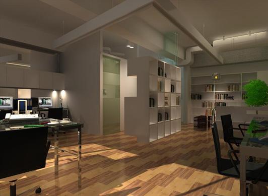 现代小型办公室装修设计方案