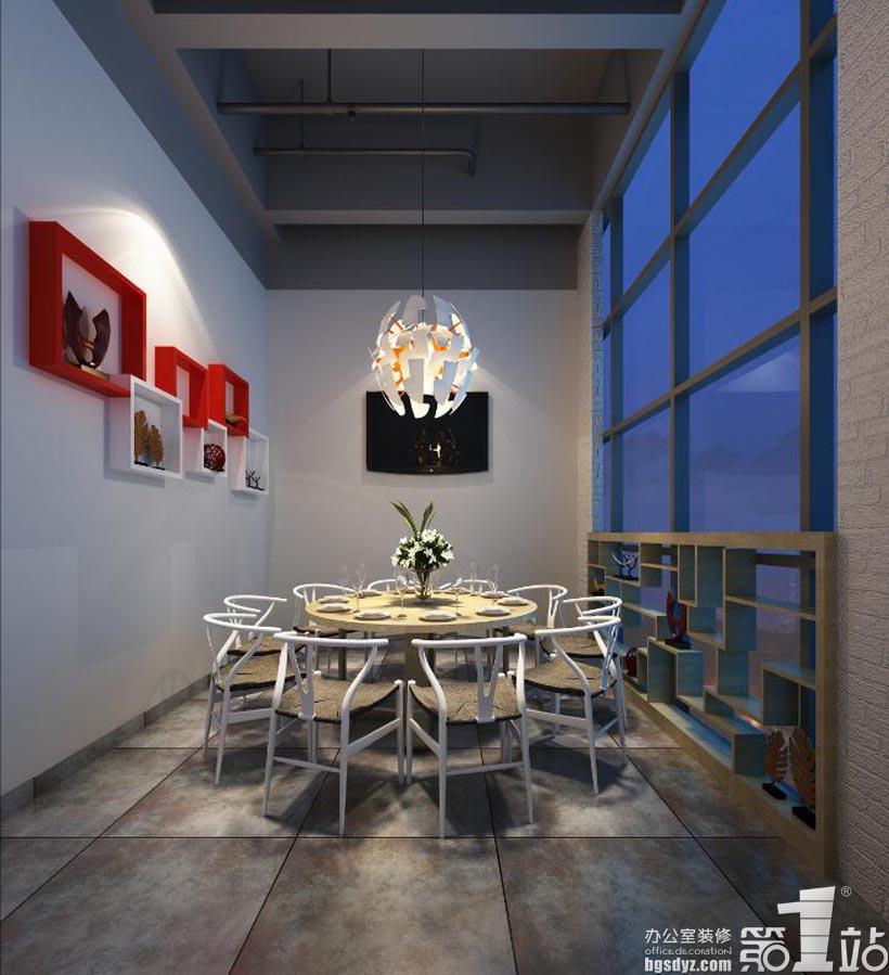 广州味世餐饮管理有限公司餐厅装修设计效果图