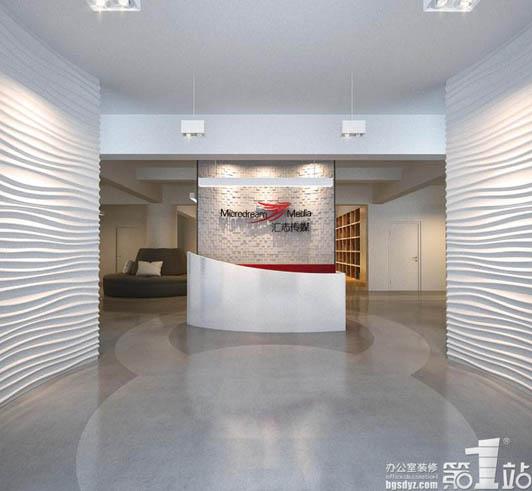 休闲区 你可以看到简单的区域的划分,功能清晰明了的一个效果展示,休闲区的设计也可以做到用无声的设计语言,有力地表达一种干净利落的理念,简约的方法让传媒公司办公室设计呈现了一个完美的状态。  董事长室 它的董事长室的设计色调温和、大气,让进来的那些人感受到一种亲近感。