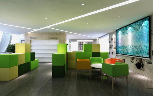 学校办公室装修设计一定要简约风格?