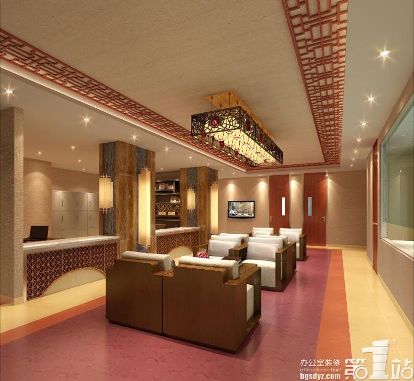 广州仁慈医院体检中心设计案例,广州办公室装修第一站