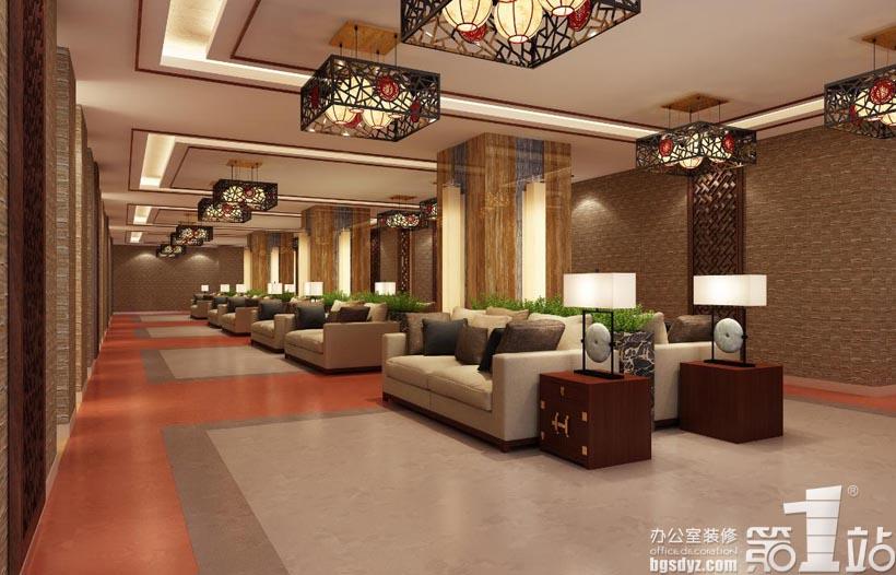 广州仁慈医院体检中心设计案例