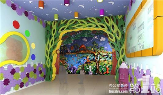 幼儿园通道设计