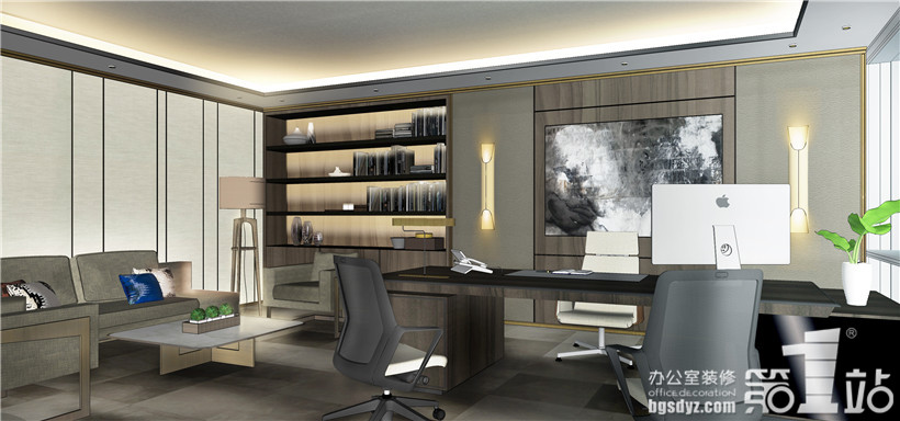 化妆品公司办公室设计效果图