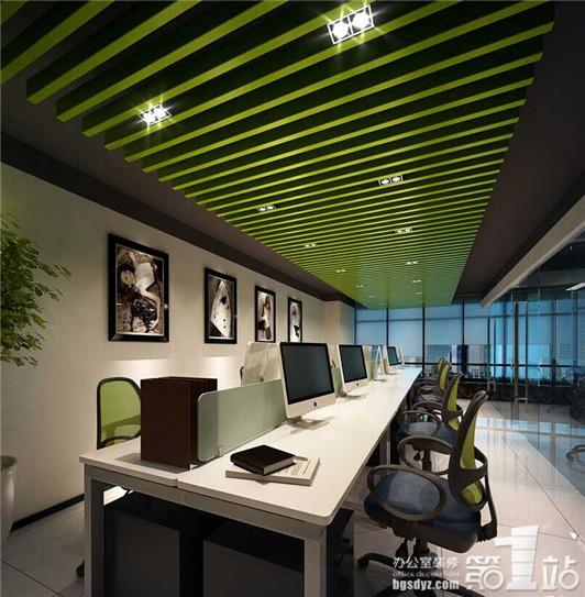 办公室装修设计六大技巧,轻松入驻绿色办公环境高清图片