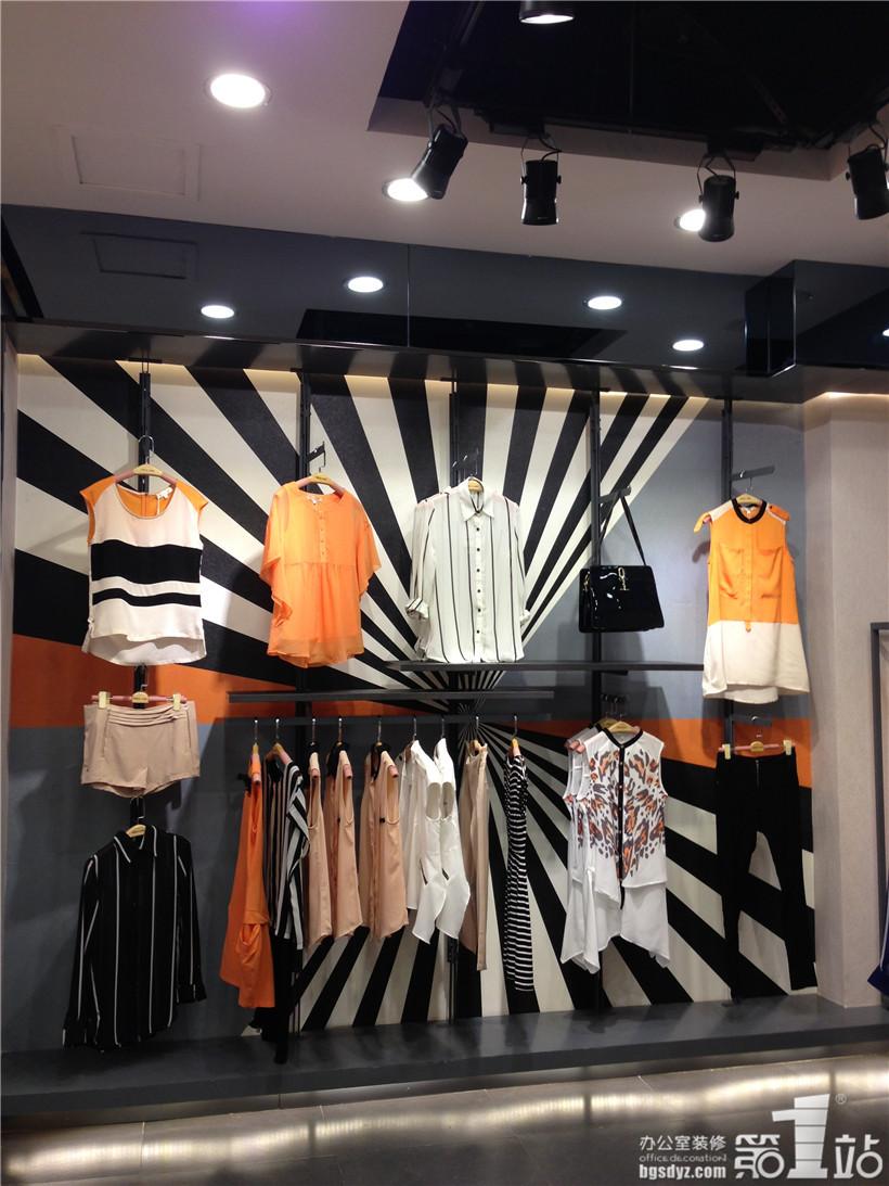 快时尚女装店铺(重庆店)装修设计案例,广州办公室装修