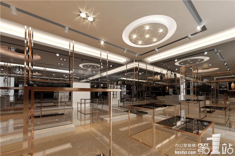 倍希(语眸)女装店铺装修设计案例,广州办公室装修第一