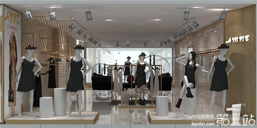 amnt女装店铺设计案例