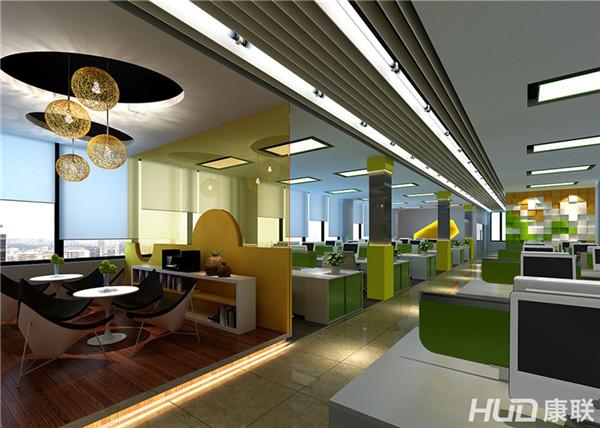 好的创意办公室设计让办公环境更舒适