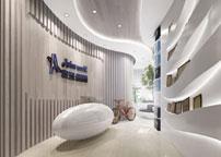 寰亚国际旅游社办公室设计案例