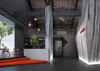 创红文化传媒机构办公室设计案例