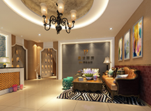 广州办公室装修设计案例-晟世丽芳美肤中心-洛溪店