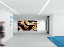 展厅装修设计案例-卡贝璐服饰主播公司