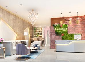办公室装修设计案例-阅时尚国际美甲中心