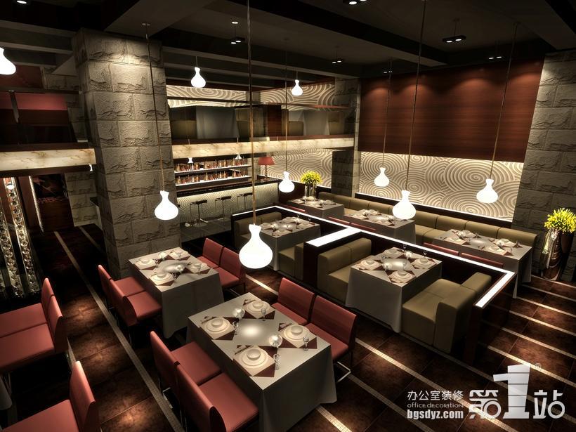 咖啡西餐厅装修效果图,特色西餐厅装修效果图,自助西餐厅装高清图片