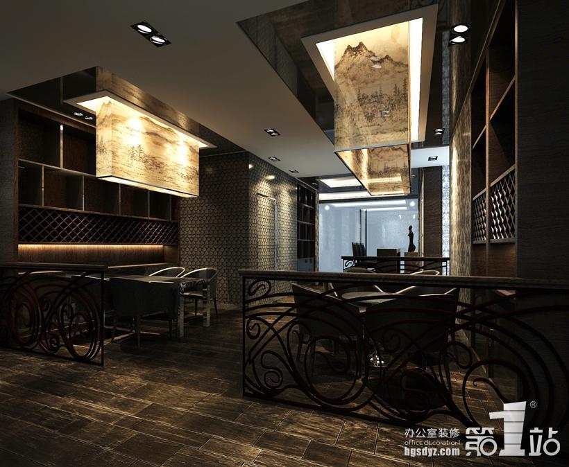 小型咖啡厅效果图; 咖啡厅效果图(办公室装修第一站);; 番禺宾馆咖啡